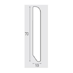 MM 70X10 ML 3.00 -  BATTISCOPA PINO VN. PINO