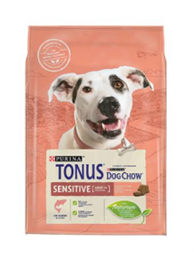 PURINA TONUS DOG CHOW CANE ADULT SENSITIVE CON SALMONE   2,5kg