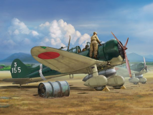 "IJN Type 96 carrier-based fighter II A5M2b ""Claude"" (early version)"