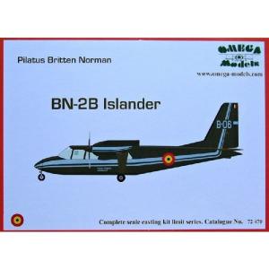 PBN BN-2B ISLANDER (BELGIUM)