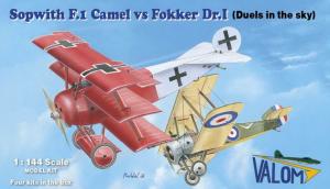 Sopwith F.I Camel vs Fokker Dr.I