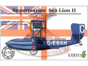 SUPERMARINE SEA LION II Schneider Cup