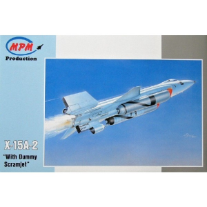 X-15A-2 'WITH DUMMY SCRAMJET'