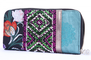 Portafoglio donna Desigual Zip Around Long Wallet Quenny