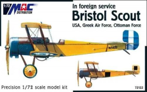 BRISTOL SCOUT (USA, GREEK AF, OTTOMAN FORCE)