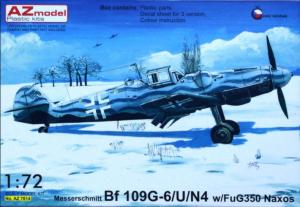 Me-109G-6/U/N4 w/FuG350 Naxos