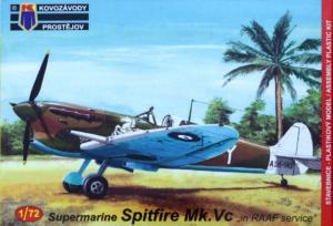 Spitfire Mk.Vc 'in RAAF service' (3x camo)