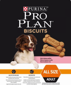 Purina proplan biscuits salmone e riso