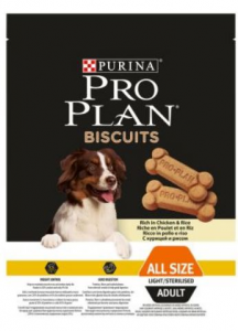Purina proplan biscuits light/sterilised