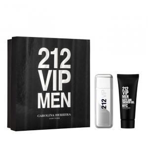 Carolina Herrera 212 Vip Men Eau De Toilette Spray 100ml Set 2 Parti 2019