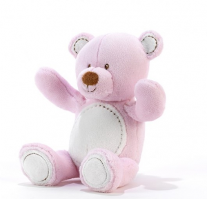 ORSO BABY ROSA Cm.20 07834 PLUSH & COMPANY