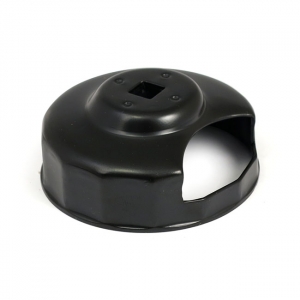 Oil filter wrench, 3/8 drive with cut-out
