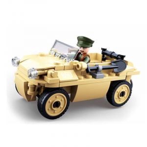 Sluban WWII German amphibious vehicle M38-B0690