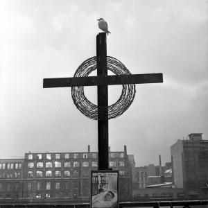 Cross on the Spree, Berlin, 1963