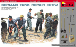 GERMAN TANK REPAIR CREW.