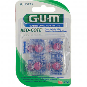 SUNSTARGUM Red-Cote Compresse Rivelatrici di Placca