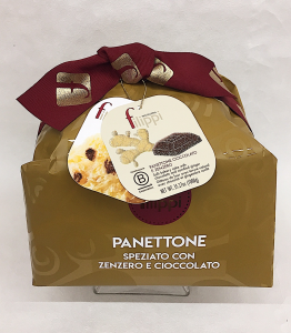 Panettone Cioccolato e Zenzero- Pasticceria Filippi - Zanè (VI)