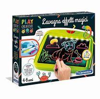 Play Creative- Lavagna Effetti Magici - Clementoni Adatto da 4/6anni