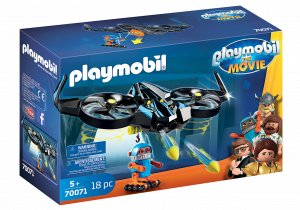 PLAYMOBIL: THE MOVIE ROBOTITRON CON DRONE 70071