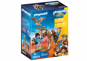 PLAYMOBIL: THE MOVIE MARLA CON CAVALLO 70072
