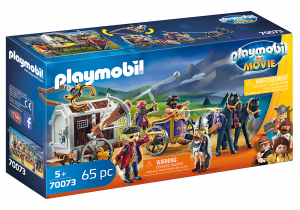 PLAYMOBIL: THE MOVIE CHARLIE CON CARRO PRIGIONE 70073