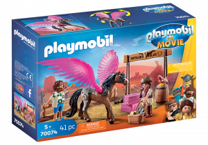 PLAYMOBIL: THE MOVIE MARLA E DEL CON CAVALLO ALATO 70074