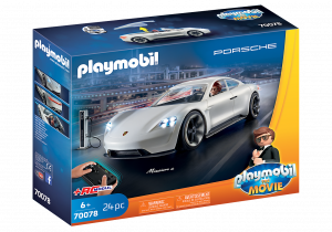 PLAYMOBIL: THE MOVIE  PORSCHE MISSION-E DI REX DASHER 70078