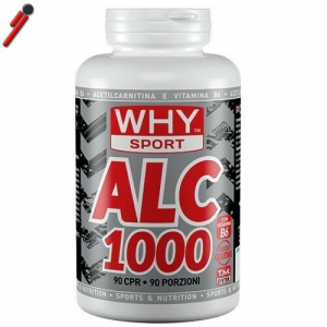 WHY Sport, ALC 1000, 90 cpr Acetil L-Carnitina da 1000 mg