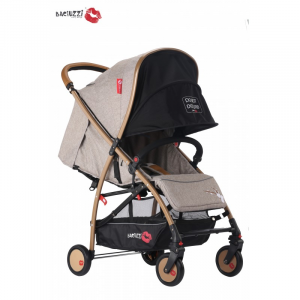 Passeggino Baciuzzi Full Optional BX ALMOND SAND Linea Platinum