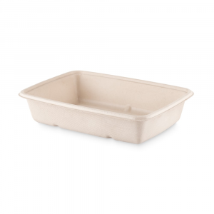 Vaschetta asporto BROWN rettangolare - 950ml