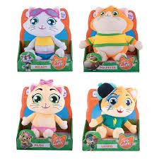 44 Gatti peluche cm. 20 inclusa canzone della serie animata Smoby