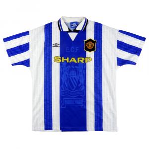 1994-96 MANCHESTER UNITED MAGLIA TERZA XL (TOP)