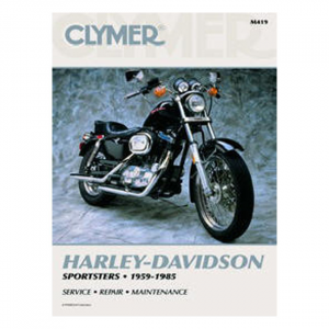 CLYMER SERVICE MANUAL 59-85 XL
