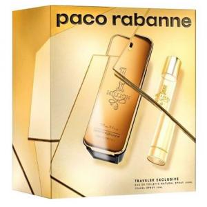 Paco Rabanne One Million Eau De Toilette Spray 100ml Set 2 Parti 2019