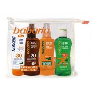 Babaria Sun Balsalm 100ml Make-Up Travel Bag Facial And Oil Set 4 Parti 2019