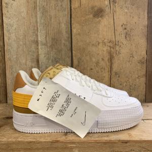 Scarpa Nike AF1-TYPE Bianca e Arancio