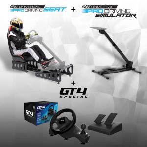 Universal Pro Driving + Sedile + Volante GT4 Special