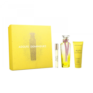 Adolfo Dominguez Agua Fresca Mimosa Coriandro Eau De Toilette Spray 120ml Set 3 Parti 2019
