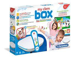 My clem box console di gioco a partire dai 4 anni Clementoni