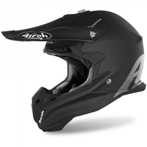 CASCO MOTO CROSS AIROH TERMINATOR COLOR BLACK MATT 2020 TOV11
