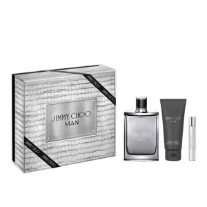 Jimmy Choo Man Eau De Toilette Spray 100ml Set 3 Parti 2019