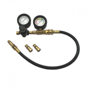 JIMS, dual gauge leak down tester