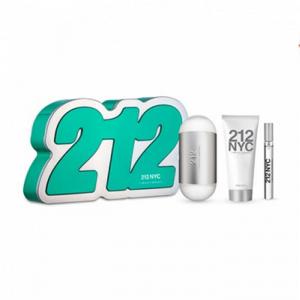 Carolina Herrera 212nyc Eau De Toilette Spray 100ml Set 3 Parti 2019