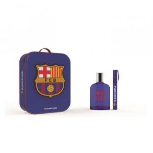 FC Barcelona Eau De Toilette Spray 100ml Set 3 Parti 2019