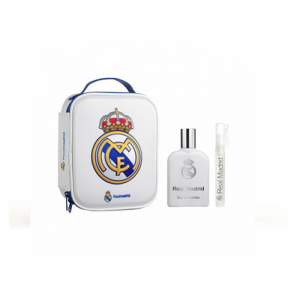 Real Madrid Eau De Toilette Spray 100ml Set 3 Parti 2019