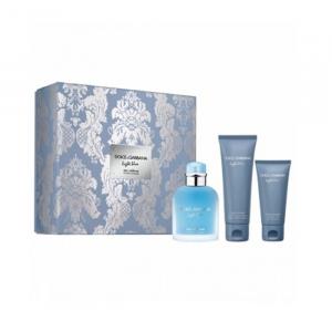 Dolce & Gabanna Light Blue Eau De Toilette Spray 125ml Set 3 Parti 2019