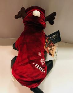 Croci  Felpa Xmas Candy Reindeer