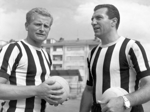 Boniperti e Parola, 1959