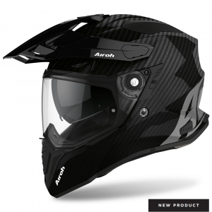 CASCO MOTO AIROH COMMANDER FULL CARBON GLOSS 2020 CM99