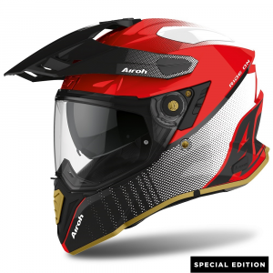 CASCO MOTO AIROH COMMANDER PROGRESS SPECIAL RED GLOSS EDITION 2020 CMP55